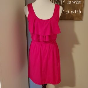 Up by Ultra Pink Fuchsia Colored Dress